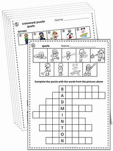 Esl Vocabulary Puzzles Sports