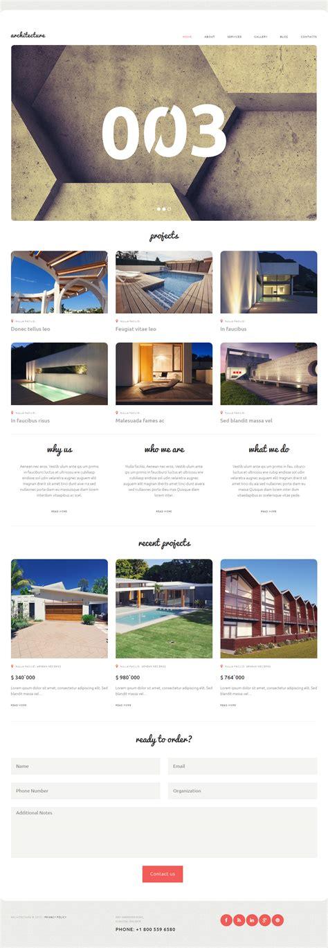 architecture bureau architecture premium responsive architecture bureau