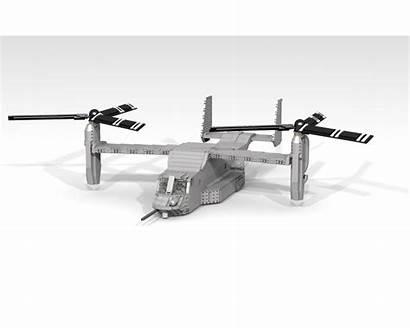 Moc Osprey Boeing Bell Rebrickable Lego