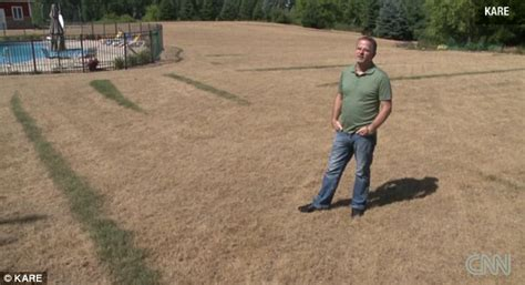 Man Destroys His 40,000 Square-foot Lawn After Mistakenly