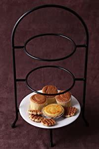 amazoncom creative home   tier dinner plate rack    tier server plates