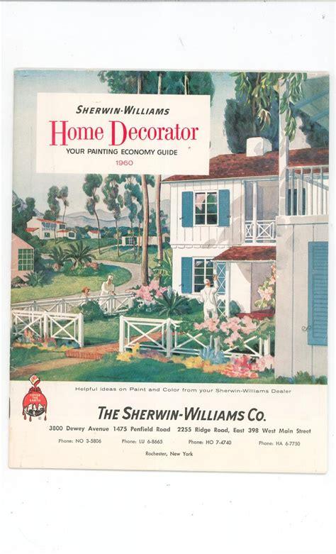 vintage sherwin williams home decorator catalog