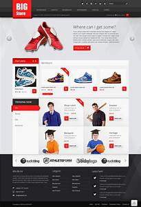 big store free ecommerce psd website template kopa theme With template ecommerce blogspot