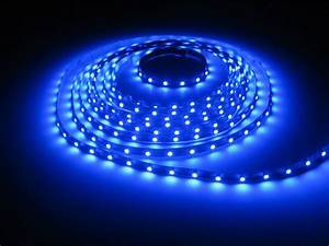 Blue Led Strips Smd3528 16ft  Reel 12v  New