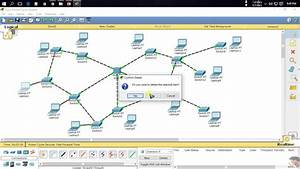 Hybrid Topology Using Cisco Packet Tracer