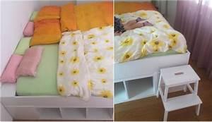Bett Aus Ikea Regalen : ikea familienbett bauen wir zeigen wie es geht ~ Markanthonyermac.com Haus und Dekorationen