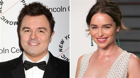 Emilia isobel euphemia rose clarke (born 23 october 1986) is a british actress. Here's what Emilia Clarke learned from dating Seth MacFarlane   abc10.com