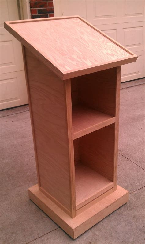 wooden storage box woodworking wooden lectern plans woodproject