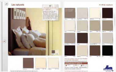 palette de couleur peinture pour chambre peinture chambre nuancier couleurs naturelles