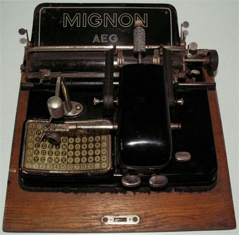Alte Schreibmaschinen Wert by File Schreibmaschineaeg Mignon Jpg Wikimedia Commons