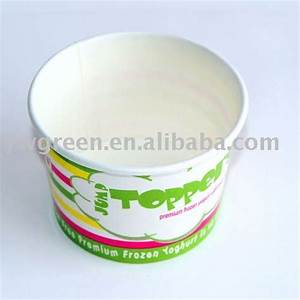 Disposable Frozen Yogurt Cup products,China Disposable ...