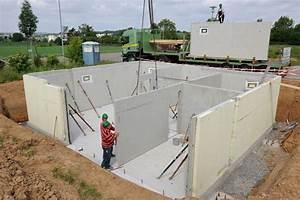Keller Bauen Kosten : fertigkeller oder bodenplatte f r das fertighaus ~ Lizthompson.info Haus und Dekorationen