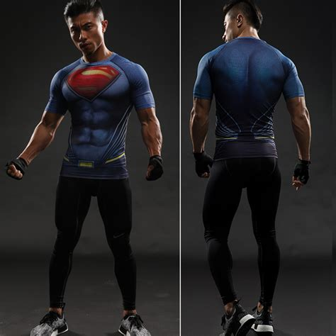 iron superman t shirt 3d printed t shirts sleeve new costume