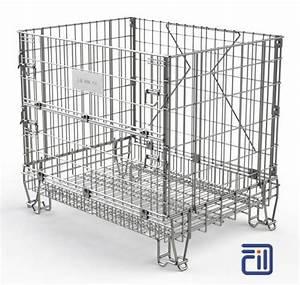 Caisse Palette Métallique : caisse palette metallique pliable tous les fournisseurs ~ Edinachiropracticcenter.com Idées de Décoration