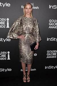 Amber Valletta in Golden Globe Awards Season Celebration ...