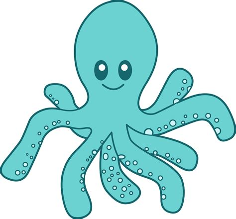 octopus clipart diy word wall as us