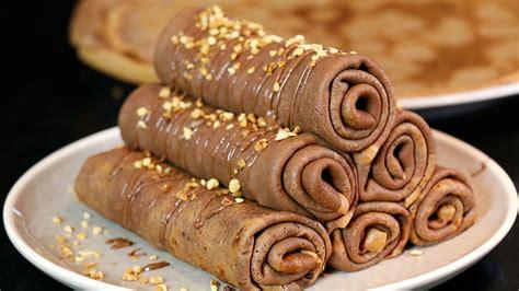 avocat cuisine recette recette des crêpes chocolat roulées pâte à tartiner