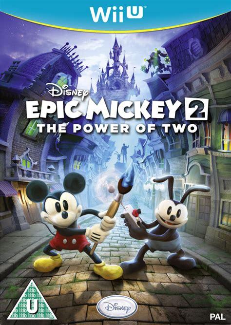 disneys epic mickey  power   wii  zavvi