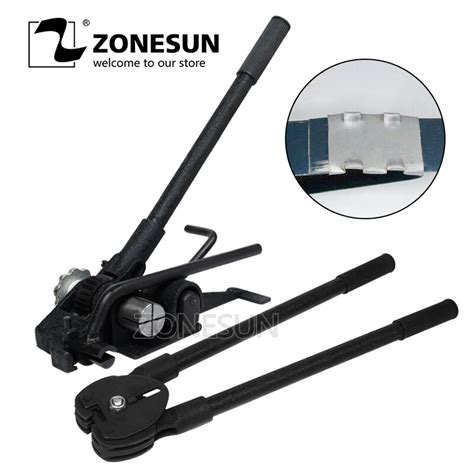 buy zonesun mm manual steel strapping machine manual sealless combination