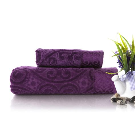 Purple Decorative Towel Sets by Purple Bath Towel Sets Images