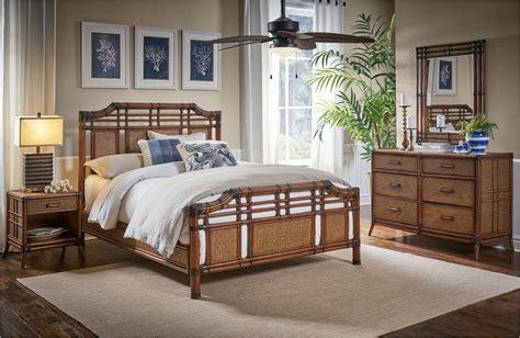 palm coast rattan wicker bedroom set kozy kingdom