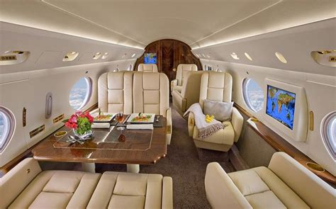 Stunning Private Jet Interiors