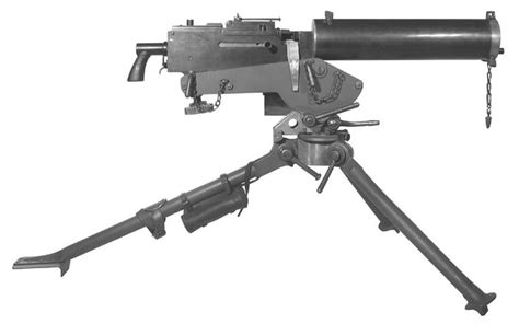 This Is A Machine Gun Which Was Made When Ww1 Started