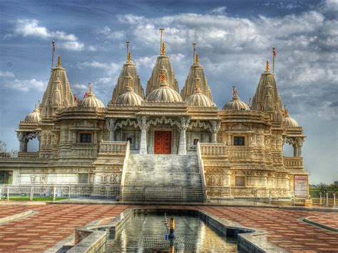 hindu temple monument building landmark hd wallpaper  wallpaperscom