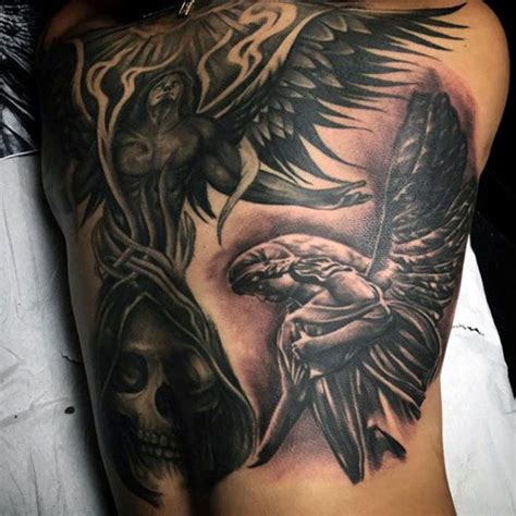 angel tattoos  men cool designs ideas