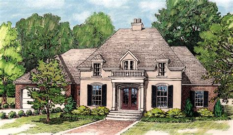 Elegant French Country Home Plan