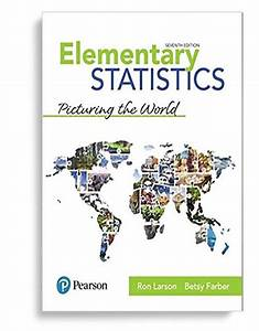 Test Bank For Elementary Statistics 7th Edition By Ron Larson