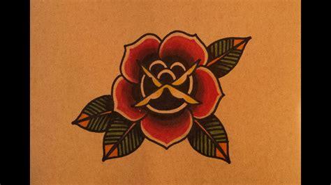 draw   school rose  thebrokenpuppet youtube