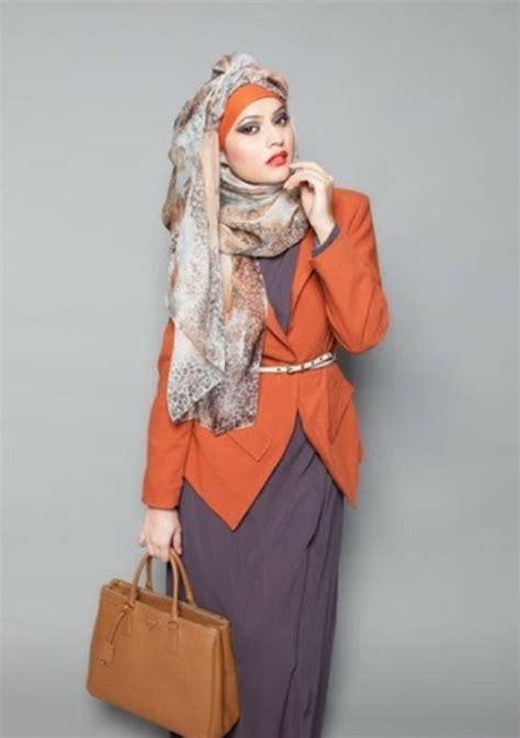 model baju kerja muslim modern  keren modelbusana