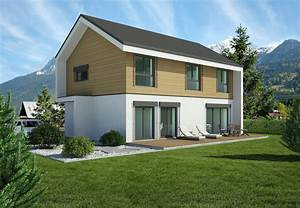 Moderne Häuser Mit Satteldach : passivhaus in fertigbauweise kommunikation2b ~ Eleganceandgraceweddings.com Haus und Dekorationen
