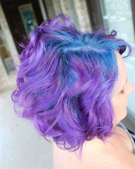 35 Stunning Blue And Purple Hair Ideas — Fantasy Colors