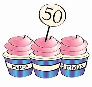 Funny 50th Birthday Clip Art - ClipArt Best