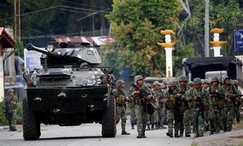 siege apc marawi siege linked militants dump bodies of