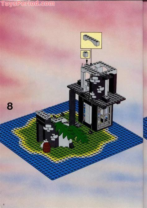 lego  forbidden island set parts inventory