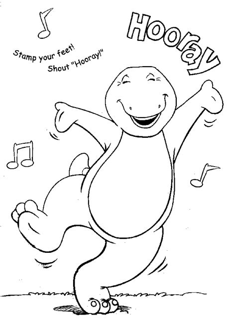 barney coloring pages barney coloring pages learn to coloring