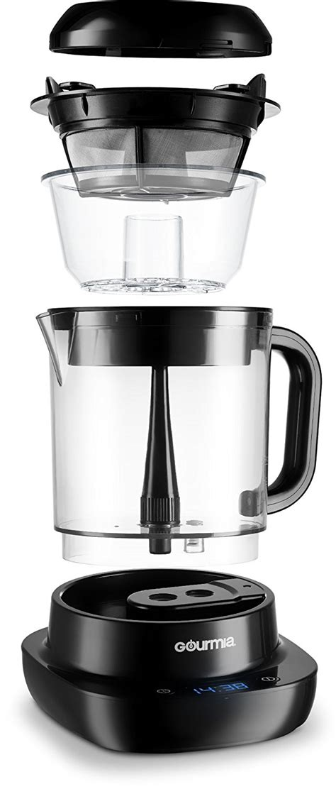 Their patented rainmaker feature ensures perfect water distribution throughout your coffee grounds, giving. Gourmia GCM6800 Automatic Cold Brew Coffee Maker - 10 Minutes Fast Brew Offer - BuyMoreCoffee.com