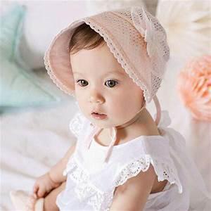 Cute Baby Girls Cap Sweet Lovely Princess Sunshade Hat ...