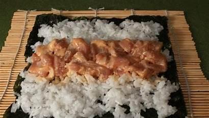 Sushi Roll Tuna Spicy California Rolling Recipe