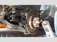 82513 2004 Honda Pilot front and rear brake replacement