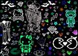 [50+] Emo Background Wallpaper on WallpaperSafari