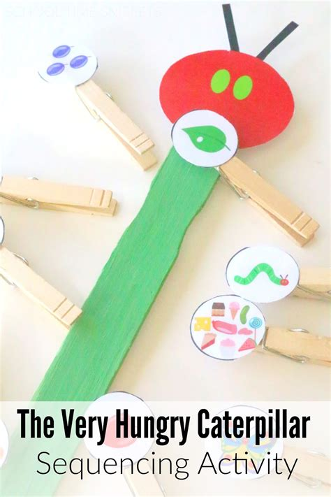 hungry caterpillar sequencing amp story disks school 836 | very hungry caterpillar sequencing activity printable