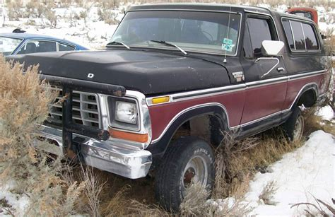 1978 ford bronco ranger xlt 4x4 sport utility vehicle suv for sale