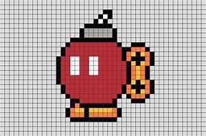 Pixel Art Bombe : bomb omb pixel art brik ~ Melissatoandfro.com Idées de Décoration