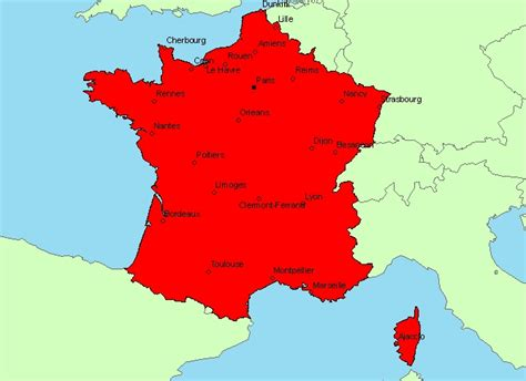 Carte Du Var Avec Toutes Les Villes by Info Carte De La Avec Les Villes Principales