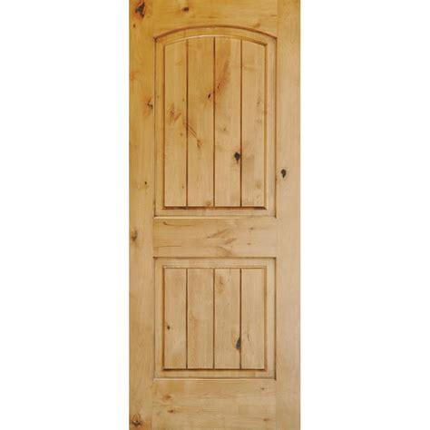 krosswood doors      knotty alder  panel top