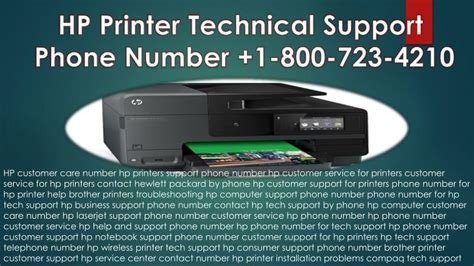 hp tech support phone number ppt hp printer technical support center phone number 1